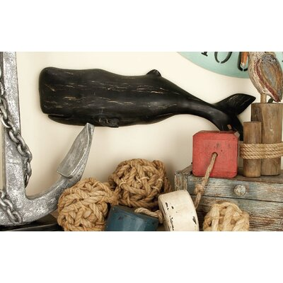 Middlefield Interestingly Crafted Whale Wall Décor