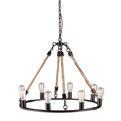 Wimbledon 8-Light Candle-Style Chandelier