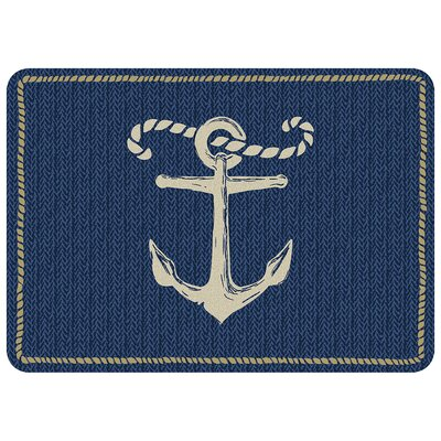 Jacksonville Anchor Kitchen Mat