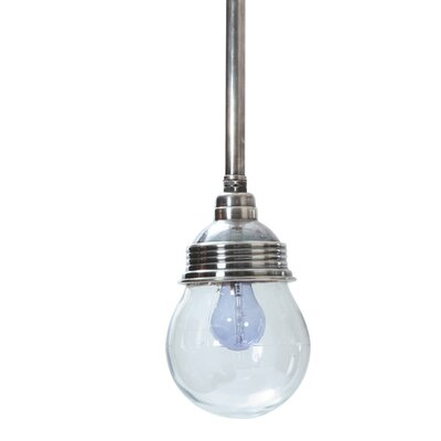 Masardis Single Pipe 1-Light Mini Pendant