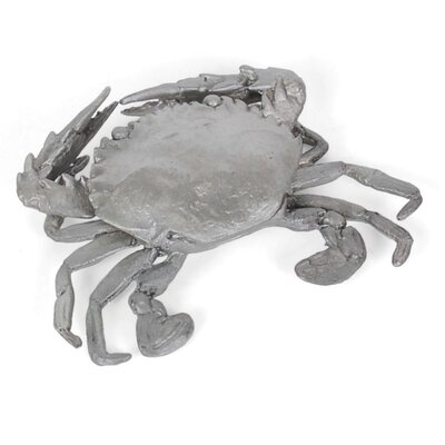 Brushed and Nickel Crab