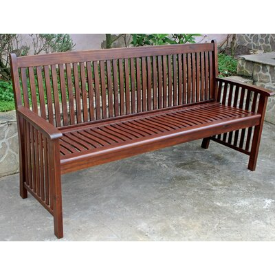 Sandy Point Wood Garden Bench Size: 65 W x 22.5 D