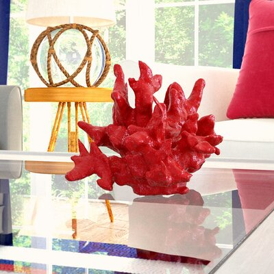 Faux Coral Sculpture