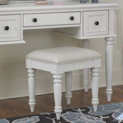 Kenduskeag Vanity Bench Finish: White