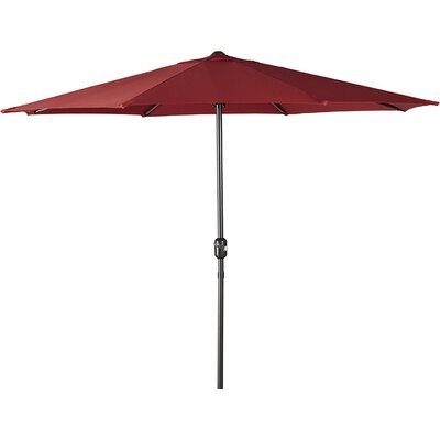 Kelton 9 Market Umbrella Color: Red