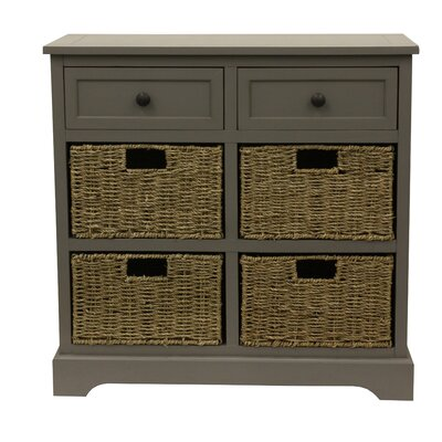 Balsam 6 Drawer Chest Finish: Eased edge gray