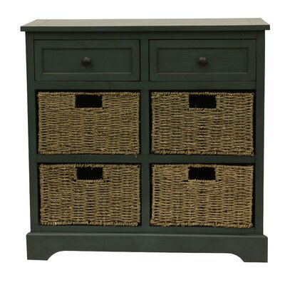 Balsam 6 Drawer Chest Finish: Antique teal