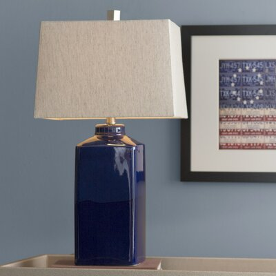 Staytonville 26.5 Table Lamp Base Finish: Blue