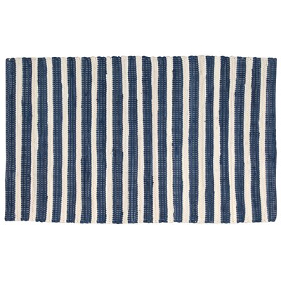 Waterton Blue Area Rug Rug Size: Rectangle 26 x 4