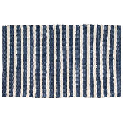 Alstead Blue Area Rug Rug Size: 26 x 4