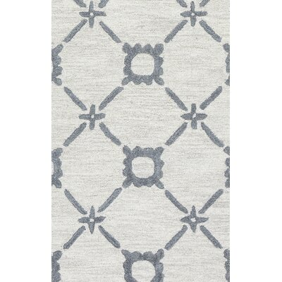 Anniedale Hand-Tufted Wool Gray Area Rug Rug Size: Runner 26 x 8