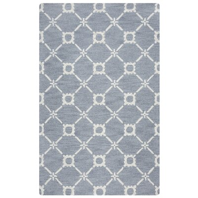 Anniedale Hand-Tufted Gray Area Rug Rug Size: Rectangle 8 x 10