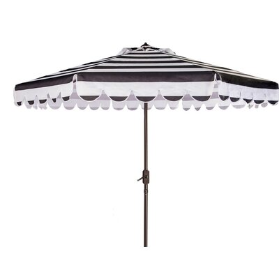 8 Lambeth Contemporary Crank Drape Umbrella