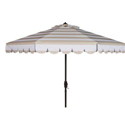 8 Lambeth Octagonal Crank Drape Umbrella