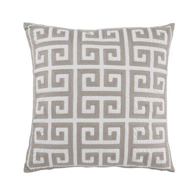 Churchill Throw Pillow Cover Color: Gray
