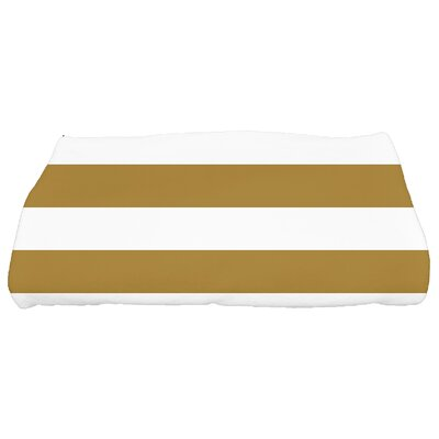 Westfield Stripe Bath Towel Color: Gold