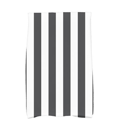 Westfield Stripe Hand Towel Color: Black