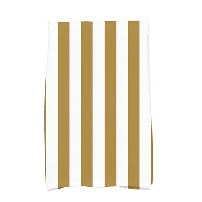 Westfield Stripe Hand Towel Color: Gold