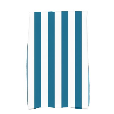 Inwood Love Soccer Stripe Hand Towel Color: Teal
