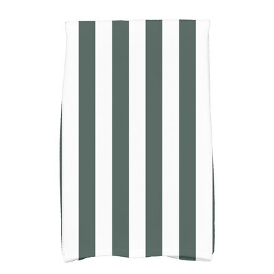 Westfield Stripe Hand Towel Color: Green