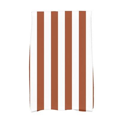 Westfield Stripe Hand Towel Color: Orange