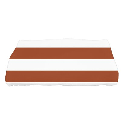 Westfield Stripe Bath Towel Color: Orange
