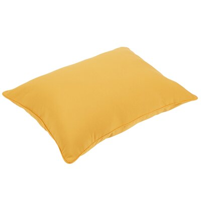 Woodsdale Piped Indoor/Outdoor Floor Pillow