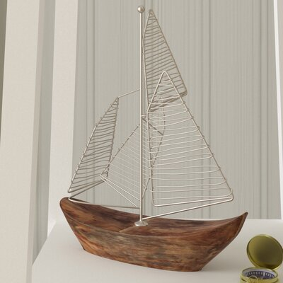 Decorative Zahra Sailboat