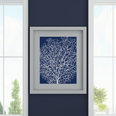 Coral Silhouette Print by Sabine Berg Graphic Art