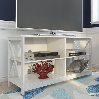 Stoneford 47 TV Stand Color: White