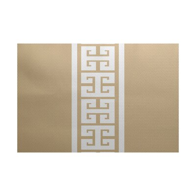 Hancock Beige Indoor/Outdoor Area Rug Rug Size: 3 x 5