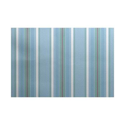 Petersfield Blue Area Rug Rug Size: 2 x 3