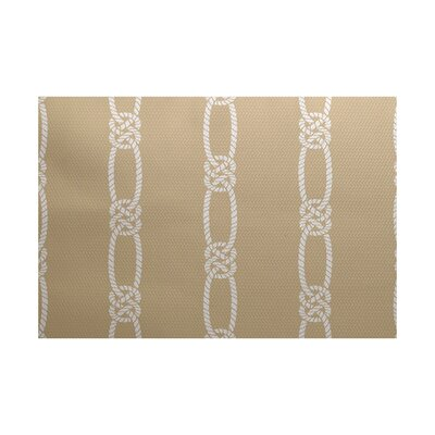 Hancock Beige Indoor/Outdoor Area Rug Rug Size: 4 x 6