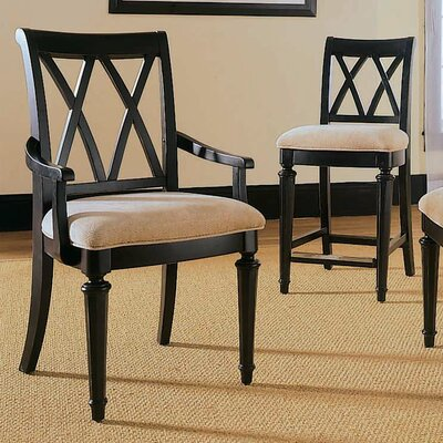 Wheelock Side Chair (Set of 4) Color: Black