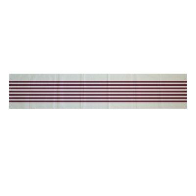 Milltown Half Stripe Table Runner Size: 0.5