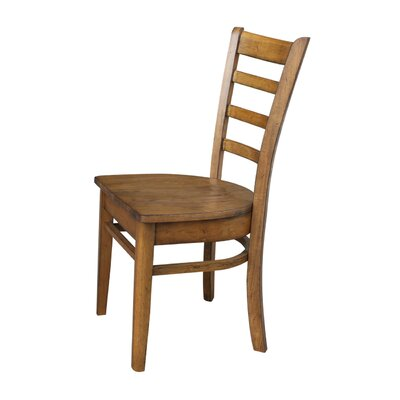 Bloomfield Solid Wood Dining Chair Color: Pecan