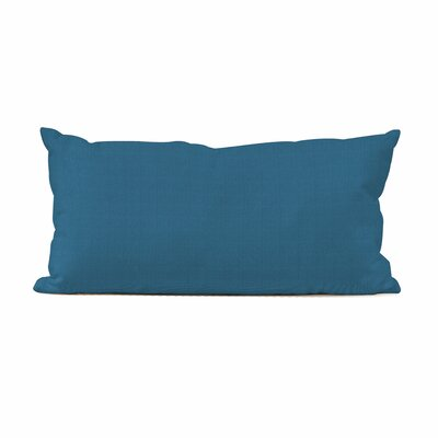Ismene Outdoor Sunbrella Lumbar Pillow Fabric: Seascape Turquoise