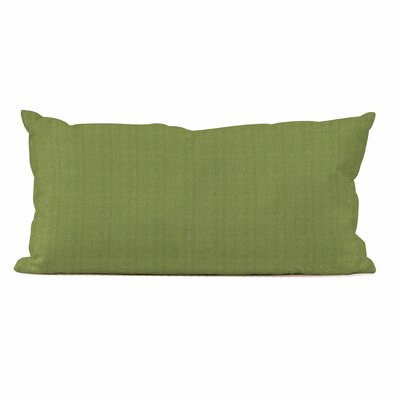 Ismene Outdoor Sunbrella Lumbar Pillow Fabric: Seascape Moss