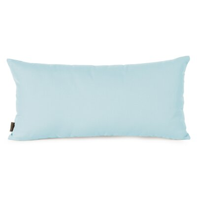 Ismene Outdoor Sunbrella Lumbar Pillow Fabric: Seascape Breeze