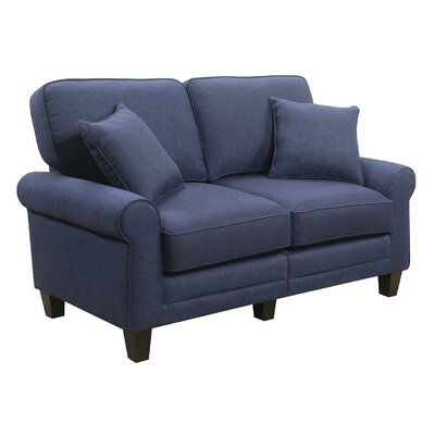 Beachcrest Home BCHH7960 Buxton 61″ Rolled Arm Loveseat Upholstery
