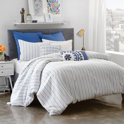 Burdette Reversible Comforter Set Size: King