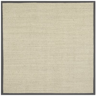 Isherwood Brown Area Rug Rug Size: Square 9