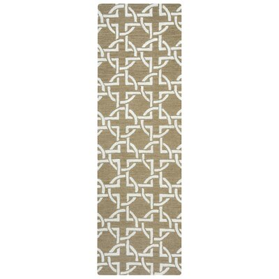 Colgate Hand-Tufted Beige Area Rug Rug Size: Rectangle 8 x 10