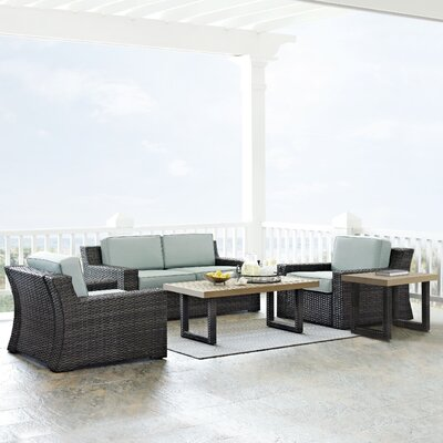 Linwood 5 Piece Deep Seating Group with Cushion