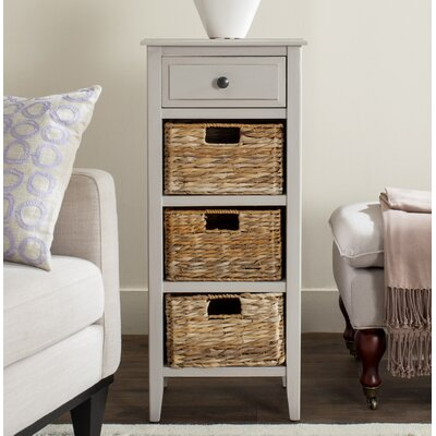 Benson End Table Finish: Vintage Gray