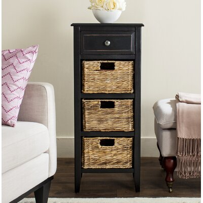 Benson End Table Finish: Distressed Black