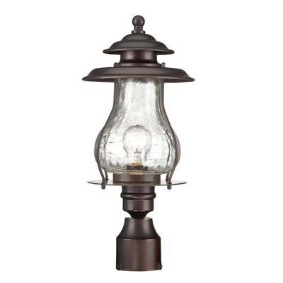 Smithsonian Outdoor 1-Light Lantern Head Finish: Architectural Bronze