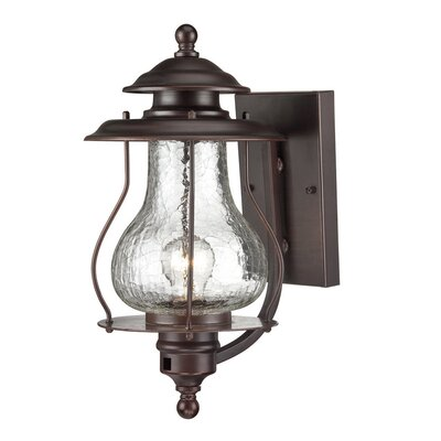 Smithsonian 1-Light Outdoor Sconce Finish: Architectural Bronze