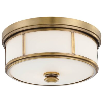 Bowers 2-Light Flush Mount