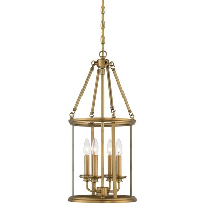 Delmont 4-Light Foyer Pendant